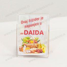 Magnet za frižider plastični