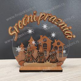 Novogodišnja dekoracija 1