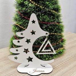 Novogodišnje dekoracija JELKA 1
