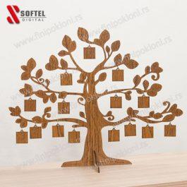 Drvo sa slikama uspomena